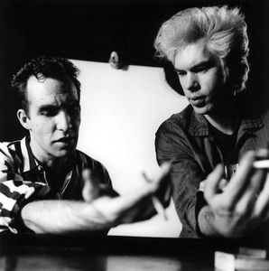 Jim Jarmusch and John Lurie