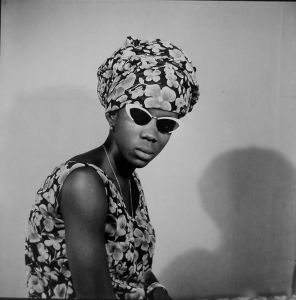 © Malick Sidibé, Mselle Keïta, 12 juillet 1969, gelatin silver print, 50 x 60 cm. Courtesy of Fifty One Fine Art Photography.