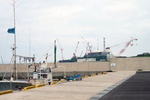Nuclear Power Plant Under Construction in Ohma, Aomori© Takahiro Kaneyama