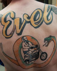 Evel Tattoo