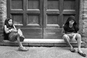 Maya and Dani in Florence, Italy 2007