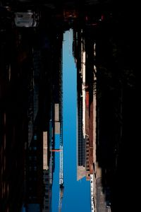 BUILDINGS MADE OF SKY IX (detail), 2012 © Peter Wegner