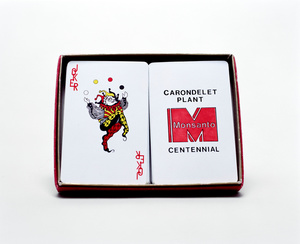 MONSANTO® PLAYING CARDS SET. 2014