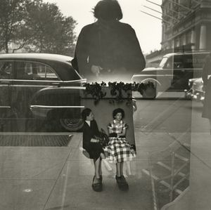 Untitled, Self-portrait, 1954 © Vivian Maier, Howard Greenberg Gallery