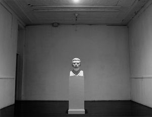 Cumulus: detail (bust of Stalin)