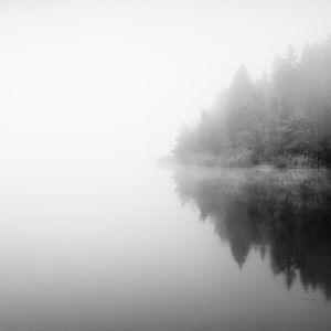 Misty Lake © Frang Dushaj