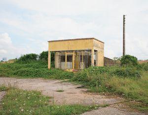 """Station #25, from """"Twentysix Abandoned Gasoline Stations"""" © Eric Tabuchi"""