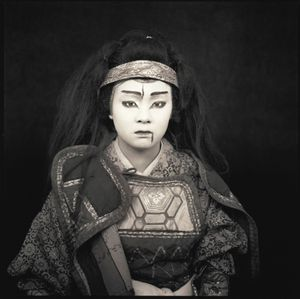 Eri Tanaka, Tono Kabuki © Hiroshi Watanabe