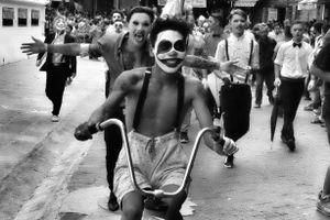 Street parade in Kathmandu