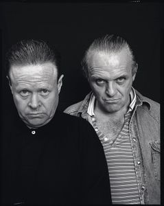 Anthony Hopkins and Bob Kingdom