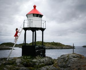 Lighthouse, Skrova, Norway