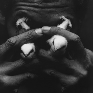Homem com lagrimas de passaro, 1992 [Man with bird tears]. Courtesy of Daros Latinamerica Collection, Zürich. © Instituto Mario Cravo Neto / Instituto Moreira Salles