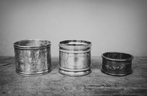"""Napkin Rings"" © Lisa Blair"