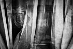 portrait of iranian martyr (iran and iraq war ) 2013