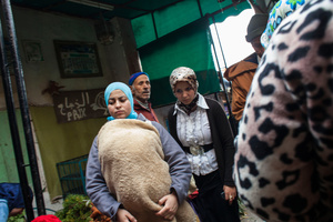 """Moulay Idriss Zerhoun. Fleeing from their villages of origin, many """"single mothers"""" are moving to the big cities to avoid cracking the balance with family or because already repudiated; many others, driven by the search for a job. 50% of """"Mére Celibataire"""" are illiterate, 1.5% are schoolgirls, 63% are seduced by the prospect of marriage, 6% are victims of rape and only 3% are prostitutes."""