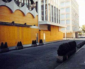 Temporary Discomfort V, G8 Summit,  Antilogo No. 22, Evian/Geneva 2003, C-print 80/100cm Ed.7 © Jules Spinatsch