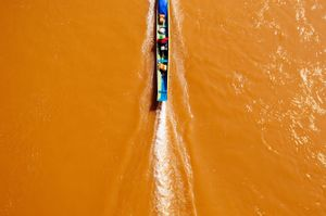 Fisherman in Northern Laos