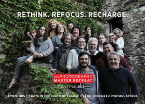 The Photography Master Retreat-July 7-14, 2018