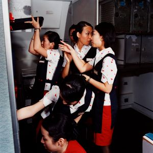 Cathay, Pacific Airways, 2006 © Brian Finke
