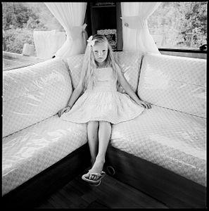 Chloe in Caravan, Limerick, Ireland 2017