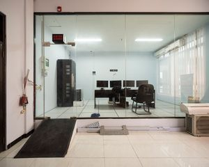 Server room at National Search and Rescue Agency Yogyakarta Region