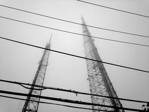 Towers and Wires in the Fog