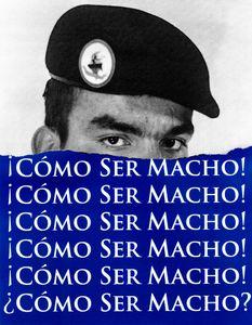 Como Ser Macho/How To Be Masculine (Blue)