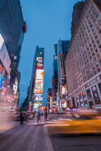 Frenesia di Times Square