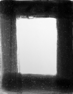 """Frame,"" Gelatin silver print, 2014."