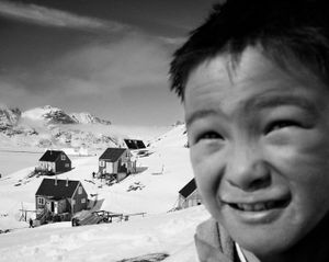 Little Bent in the village of Cape Hope on the east coast of Greenland. © Ragnar Axelsson