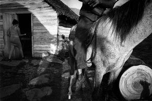Manuel (Toti) on horse © Susan S. Bank