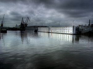 Prison Boat, 2007, Rotterdam, Netherlands. From the series Moments before the Flood © Carl De Keyser, courtesy of Prix Pictet 2008