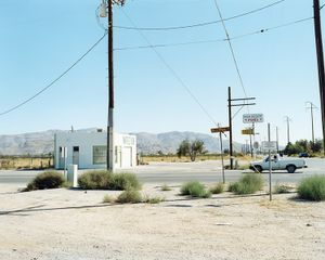 Central Road, Apple Valley, CA, from the series Mojave © Markus Altmann