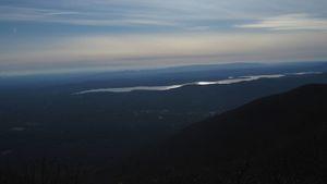 Steve Gentile - Ashokan Reservoir from Overlook Mountain Woodstock (panoramic)