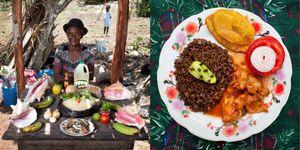 Serette Charles, 63 years old  Saint-Jean du Sud, Haiti Lamb in creole sauce, Haiti © Gabriele Galimberti