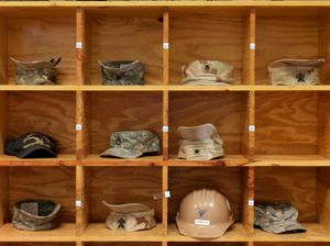 "Naval Base Headgear from ""If The Light Goes Out: Home from Guantanamo"" © Edmund Clark"