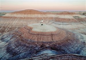 Mars Desert Research Station #4 [MDRS], Mars Society, San Rafael Swell, Utah, USA, 2008 © Vincent Fournier