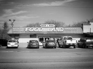 """Food Land"", Dallas, Texas, 2013"