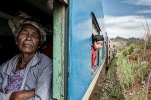 Long train journey.