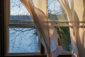 Last Light of the Day Leaving Bedroom Window Overlooking Lake Alexander (The World You Woke To), 2016
