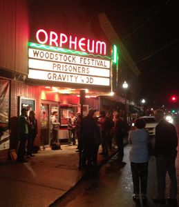Woodstock Film Festival at the Orpheum, Saugerties