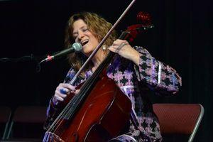 Dawn Avery, Singer and Cellist, Washington Folk Festival, 6.2.18