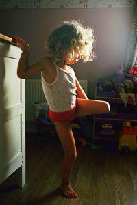 Dancer in Test