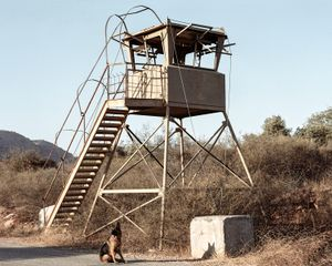 Watch Tower, Lebanon border, Galilee, 2014