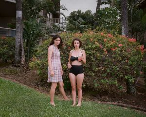 Emily at 24, with Sarah, Maui, Hawaii, 2014