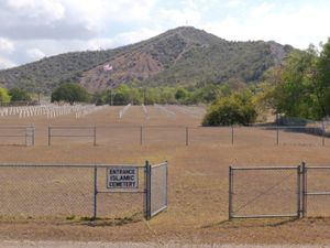 "Naval Base Cemetery from ""If The Light Goes Out: Home from Guantanamo"" © Edmund Clark"