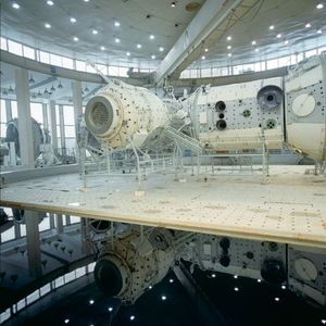 ISS mock-up, Hydro Laboratory, Star City. © Maria Gruzdeva