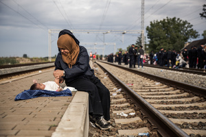 Refugees' passage to Europe