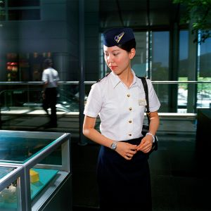 Vivian, Cathay, Pacific Airlines, 2006 © Brian Finke