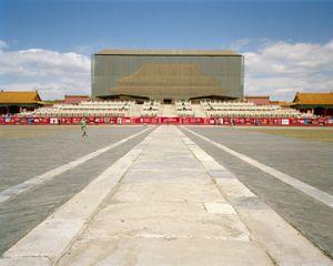 Running, Forbidden City, Beijing, China.